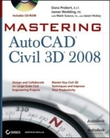 Mastering AutoCAD Civil 3D 2008 (+ CD-ROM) артикул 13839b.